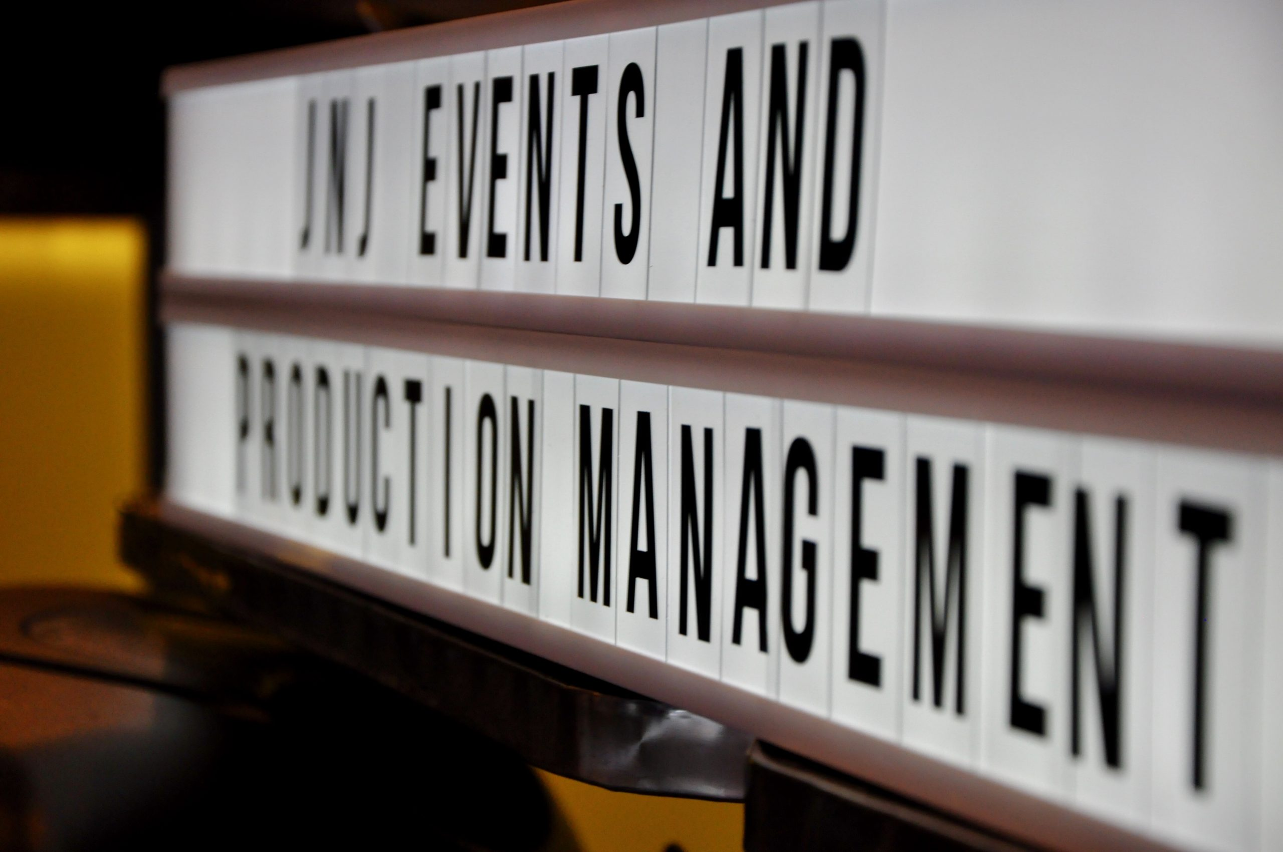 About JNJ Events and Production Management